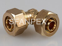 brass fitting-equal elbow