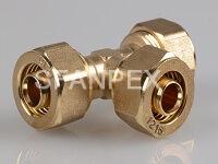 brass fitting-tee